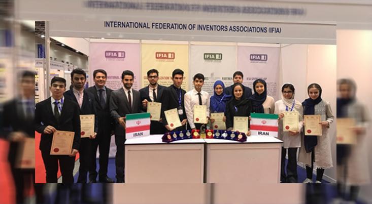 کسب 13 مدال توسط مخترعان کشور نشانه توانمندی نسل جوان است