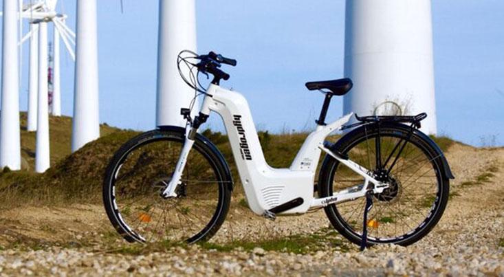نخستین دوچرخه الکتریکی دارای پیل سوختی ماه آینده رونمایی میشود