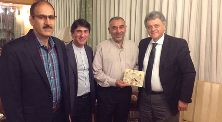 دیدار اعضای فدراسيون جهاني مخترعان در سفارت کشورمان در کروواسی