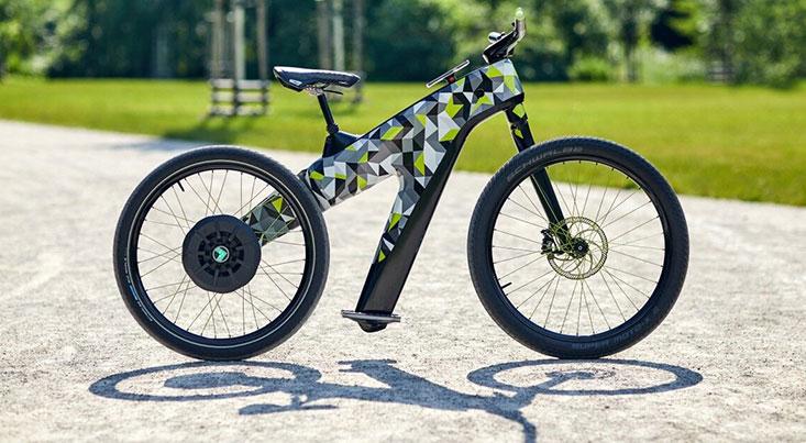 عجیبترین دوچرخه الکترونیکی که تاکنون طراحی شده است