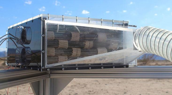 تولید آب از هوای خشک و گرم امکانپذیر شد
