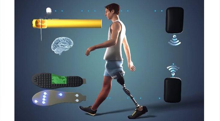 پای مصنوعی پیشرفته راه رفتن معلولان را آسان میکند