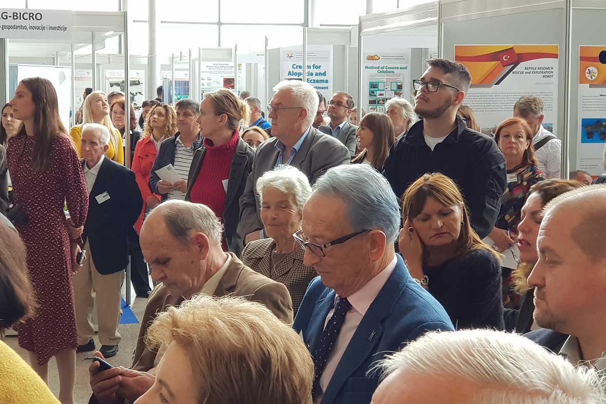 مراسم افتتاحیه نمکایشگاه اختراعات در شهر زاگرب