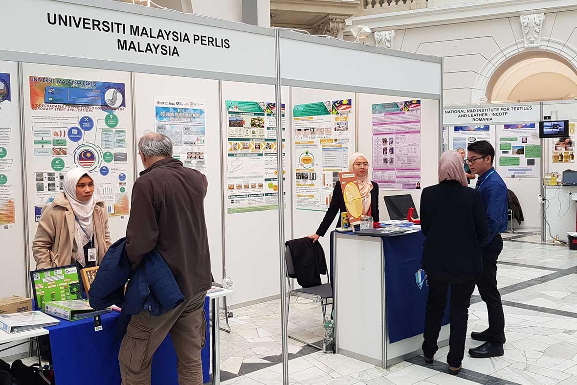 غرفه مخترعان کشور مالزی در نمایشگاه ورشو