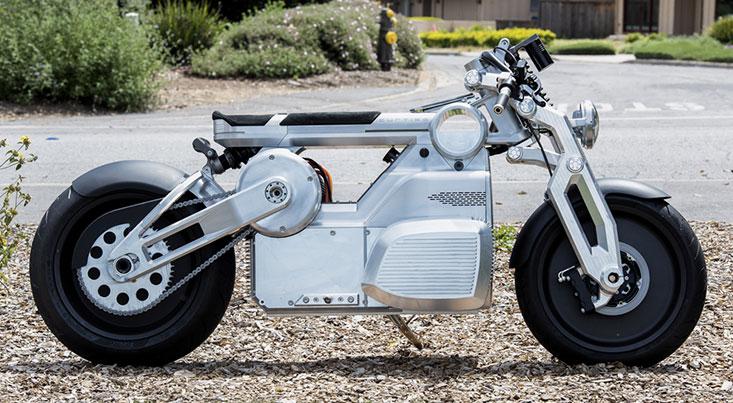 موتور سیکلت برقی با ۱۷۰ اسب بخار قدرت