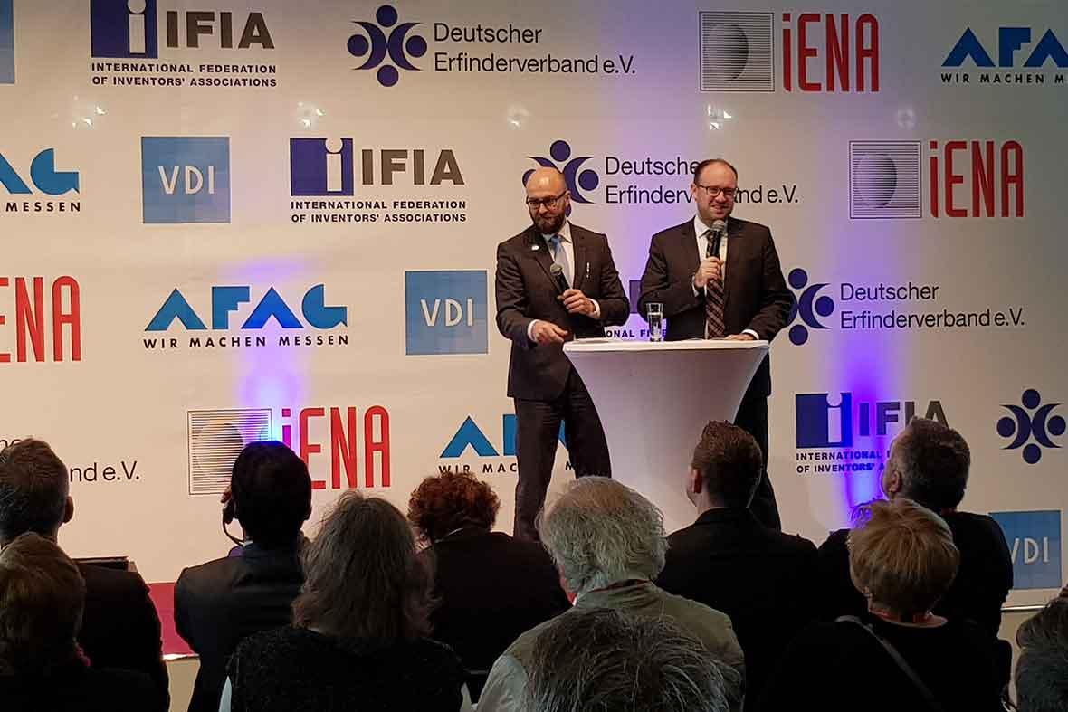 مراسم افتتاحیه نمایشگاه بین المللی اختراعات کشور آلمان