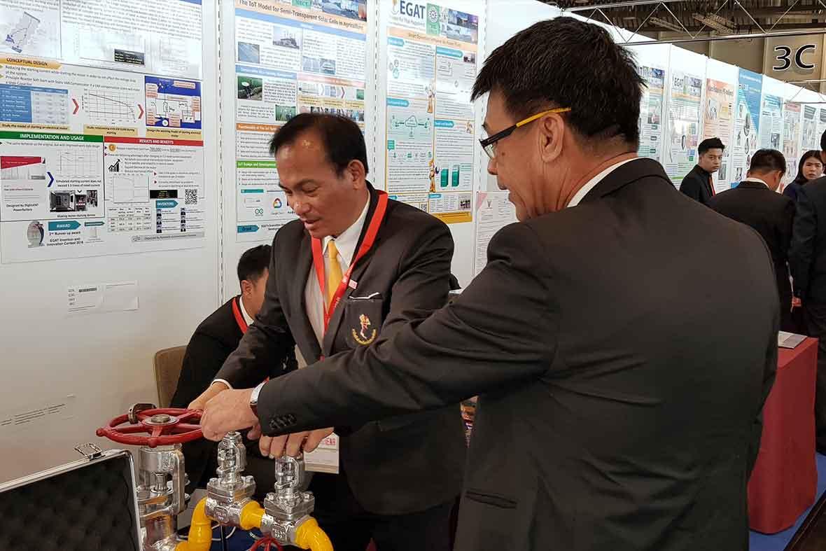 غرفه کشور تایلند در نمایشگاه اختراعات آلمان