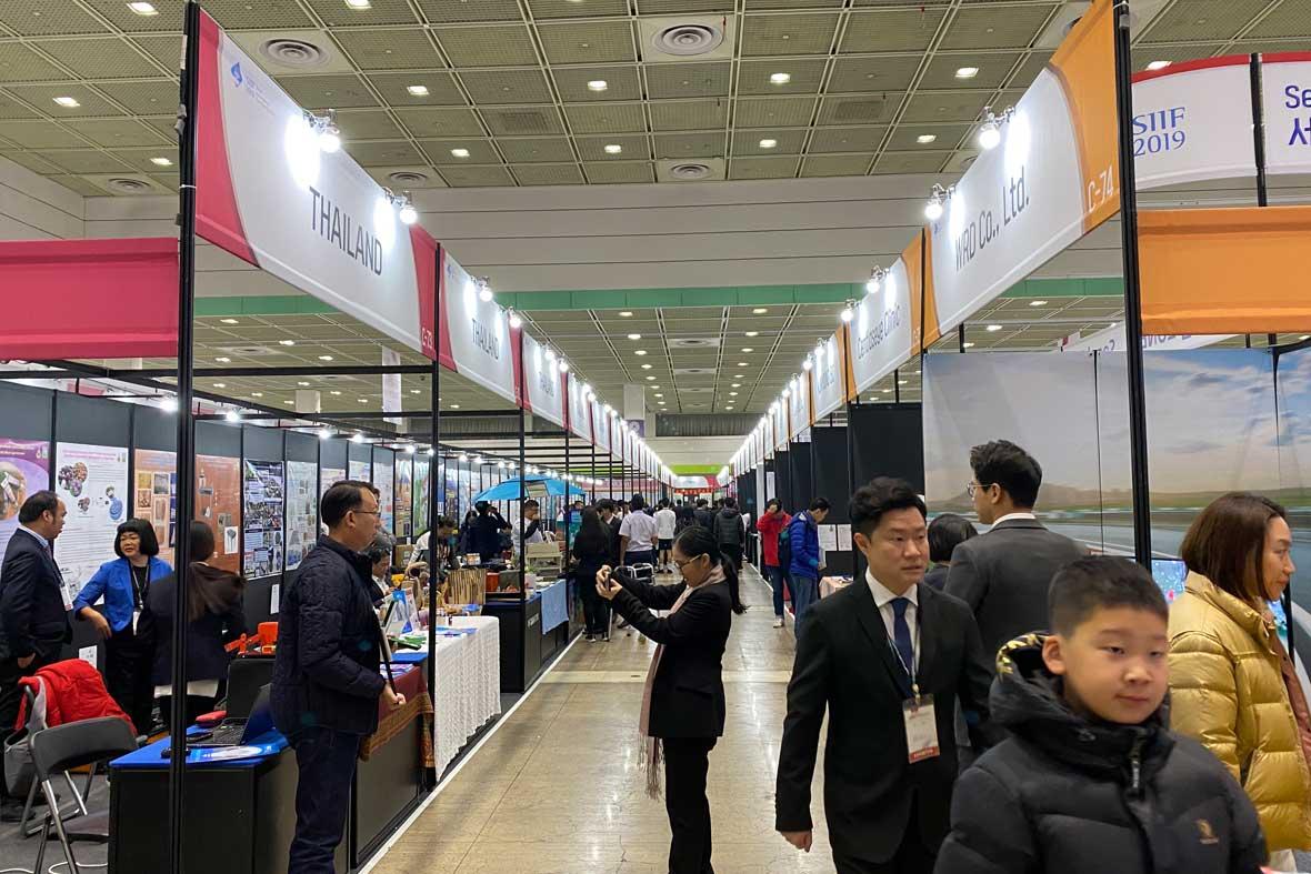 غرفه مخترعان کشور تایلند در نمایشگاه کره