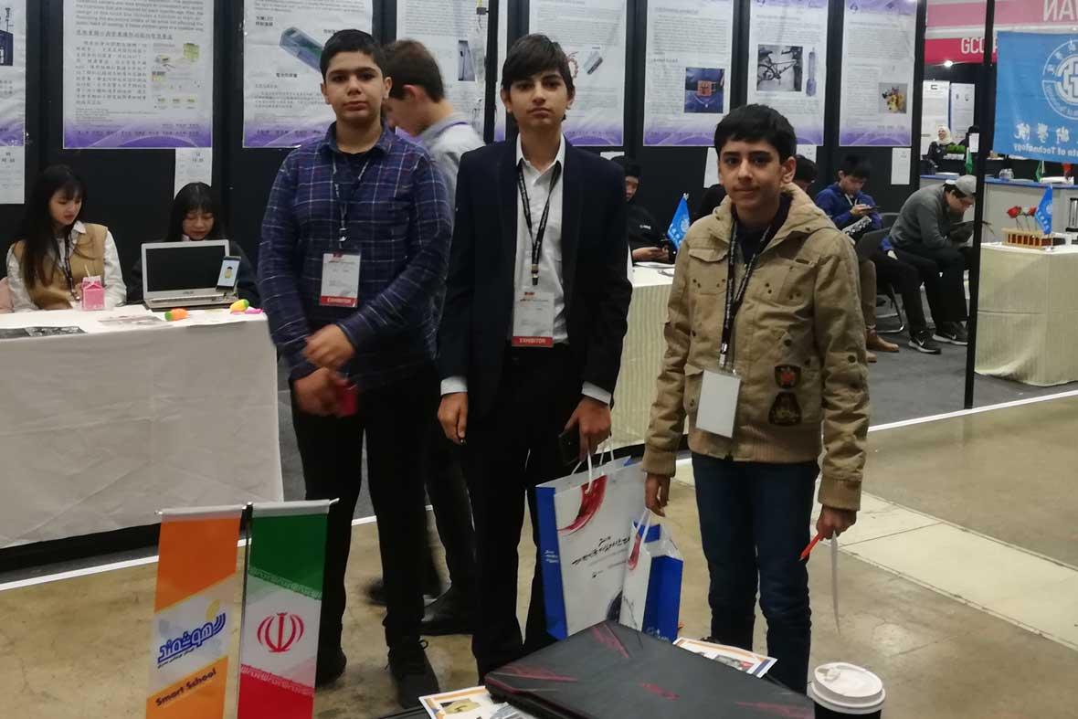 حضور دانش آموزان نوآور کشورمان در نمایشگاه اختراعات کره جنوبی