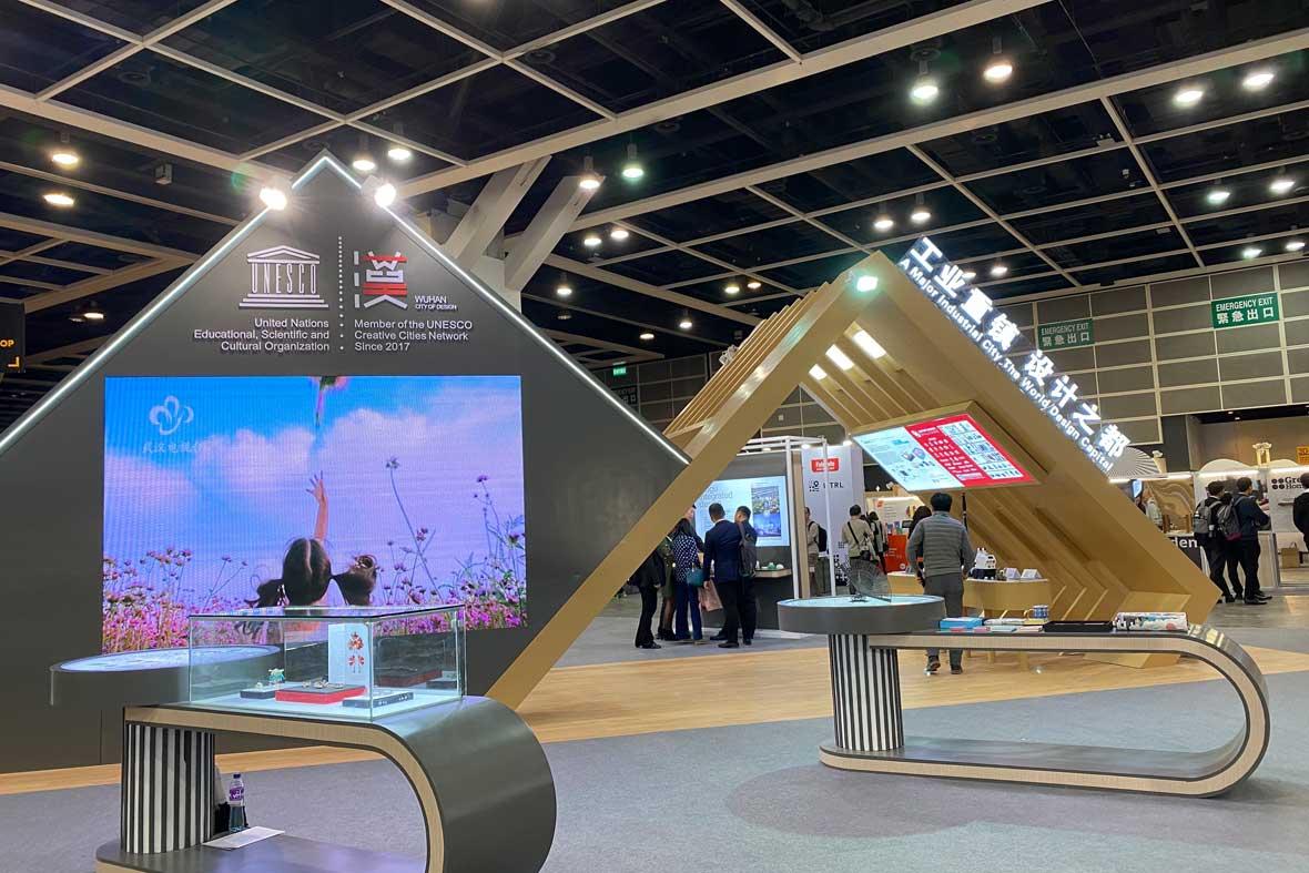 غرفه سازمان آموزشی ، علمی و فرهنگی ملل متحد (UNESCO) در جشنواره هنگ کنگ