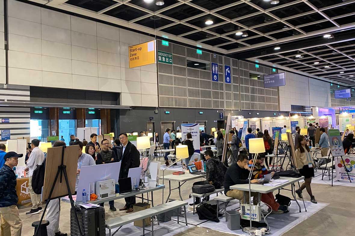 بخش استارت آپ های شرکت کننده در جشنواره هنگ کنگ (Start-up Zone)