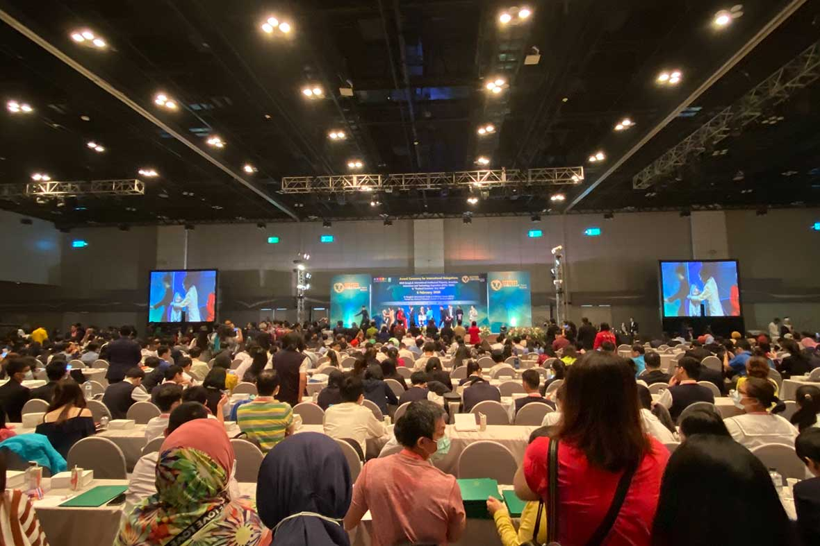 مراسم رسمی اختتامیه نمایشگاه بین المللی اختراعات کشور تایلند