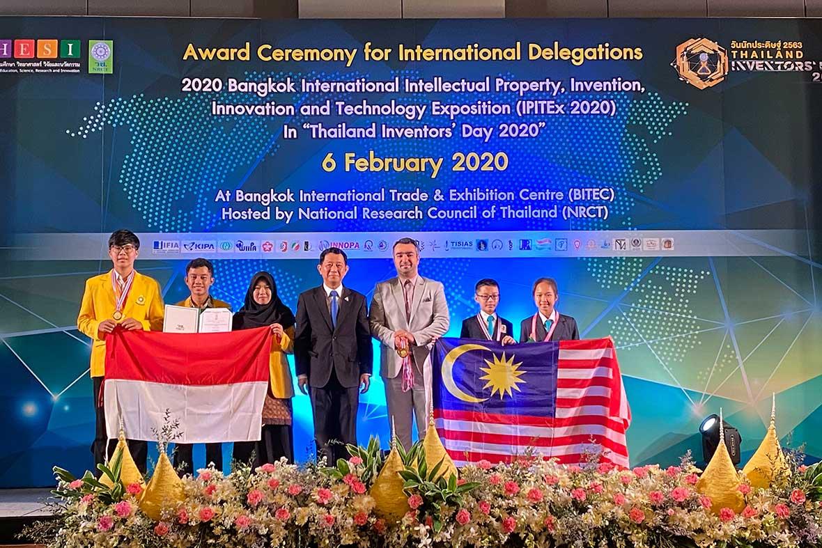مراسم اختتامیه نمایشگاه بین المللی اختراعات و نوآوری های تایلند
