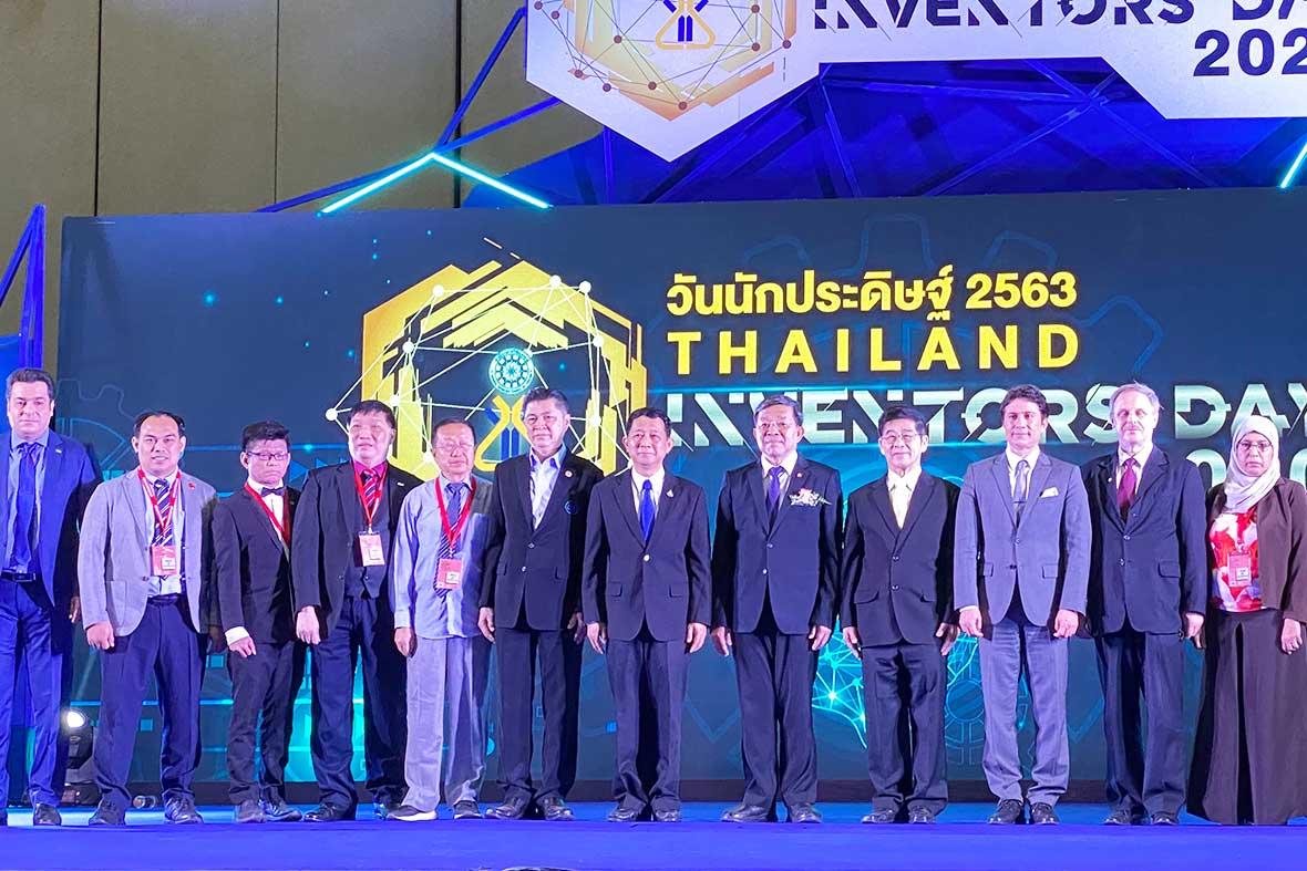 افتتاحیه نمایشگاه اختراعات و نوآوری های کشور تایلند