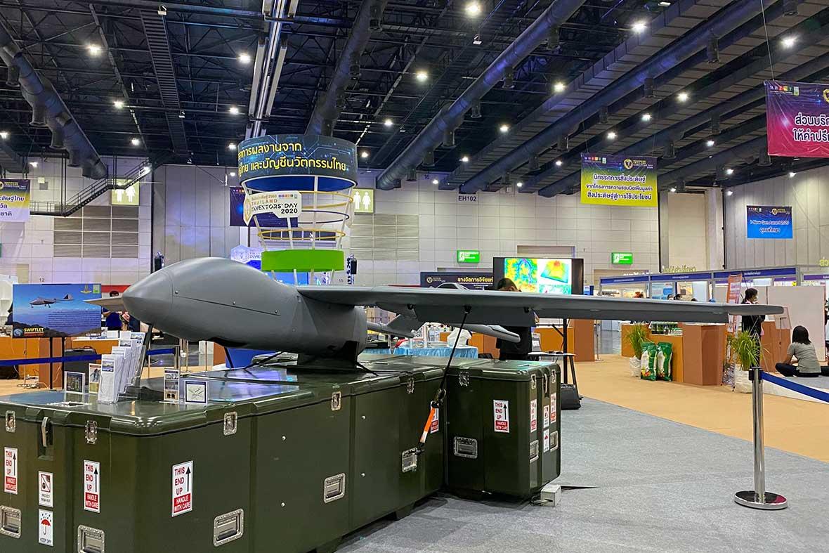 پهپاد ساخته شده توسط تیم دانشگاهی هوا فضای کشور تایلند