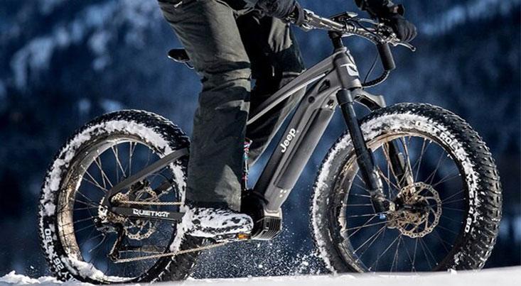 جیپ دوچرخه بیراهه نوردی میسازد