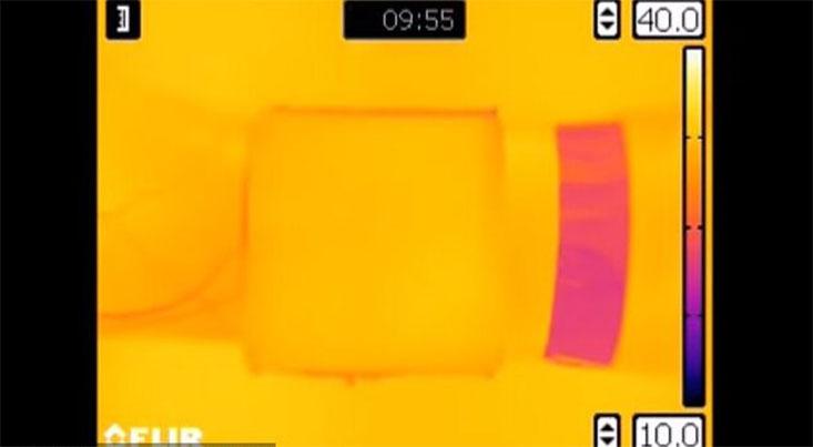 دستگاهی برای پنهان ماندن از نگاه عینکهای دید در شب