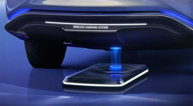 تلاش خودروسازان برای شارژ بیسیم خودروهای برقی