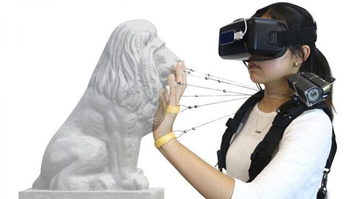 ابزاری برای لمس کردن اجسام در جهان مجازی