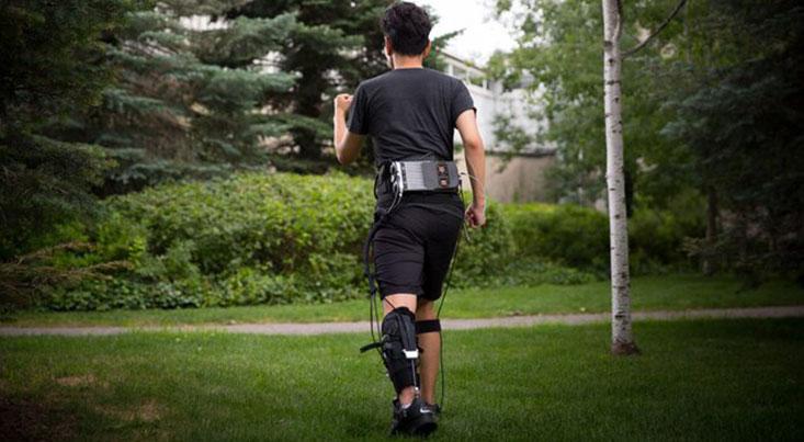 دستگاهی پوشیدنی برای بهبود راه رفتن افراد سکتهکرده