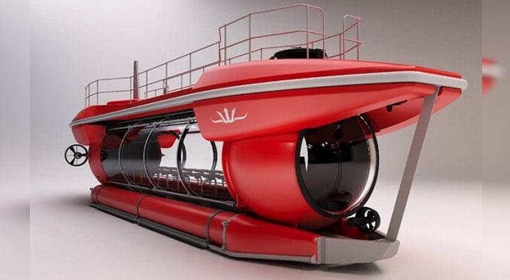تولید زیردریایی توریستی با دید ۳۶۰ درجه