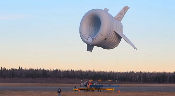 توربین بادی که در هوا معلق می ماند