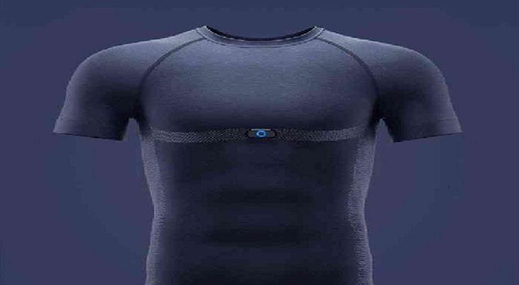 تیشرت هوشمندی که شما را از سلامت بدنتان آگاه میکند