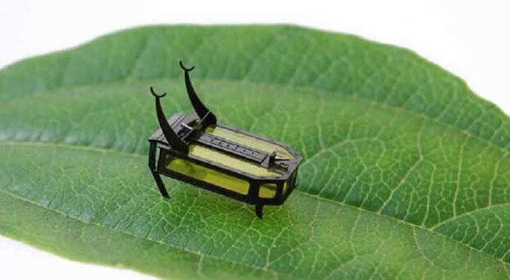 رباتهای کوچکی که با الکل کار میکنند