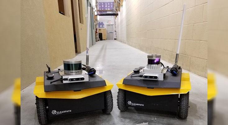 رباتی که تغییرات محیطی مشکوک را به اطلاع سربازان میرساند