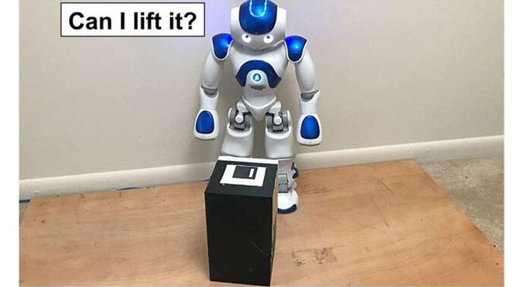 تشخیص اجسام سنگین توسط رباتها با یک روش جدید