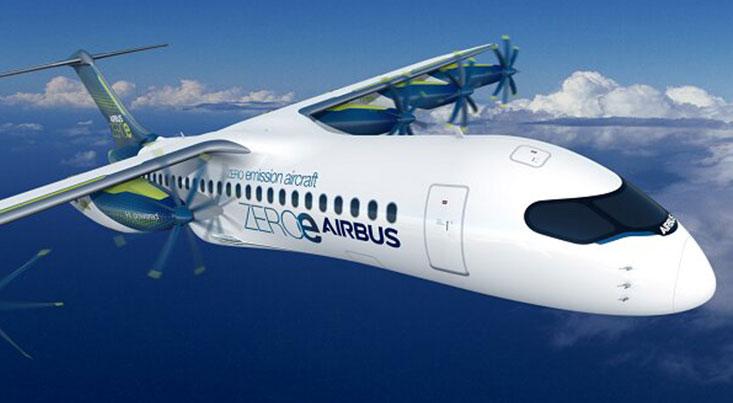 ایرباس هواپیمایی با پره و موتور جداشونده تولید کرد