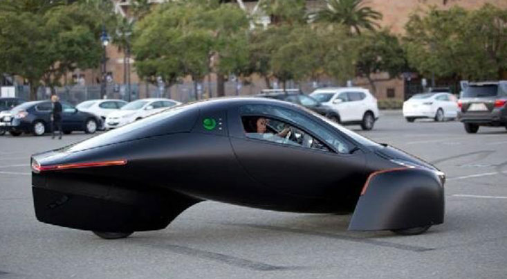 تولید خودروی برقی بدون نیاز به شارژ