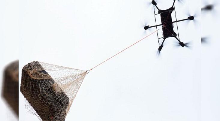 پهپاد کوچک تاشو ۴۵۰ کیلوگرم بار حمل میکند