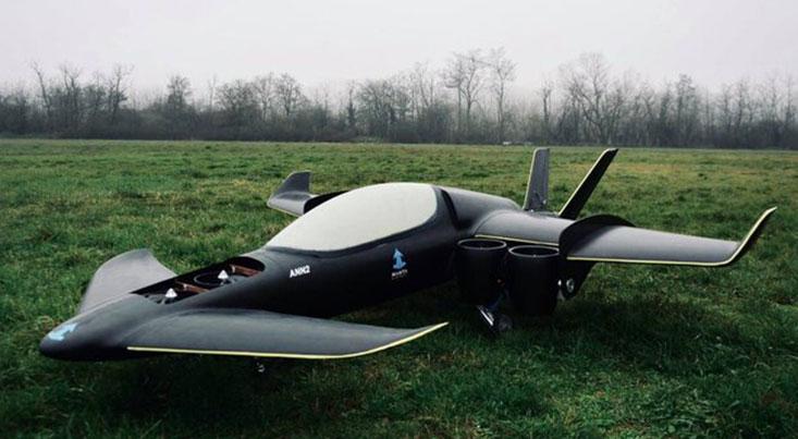 """نخستین پرواز آزمایشی هوابرد هیبریدی عمودپرواز """"مانتا"""""""