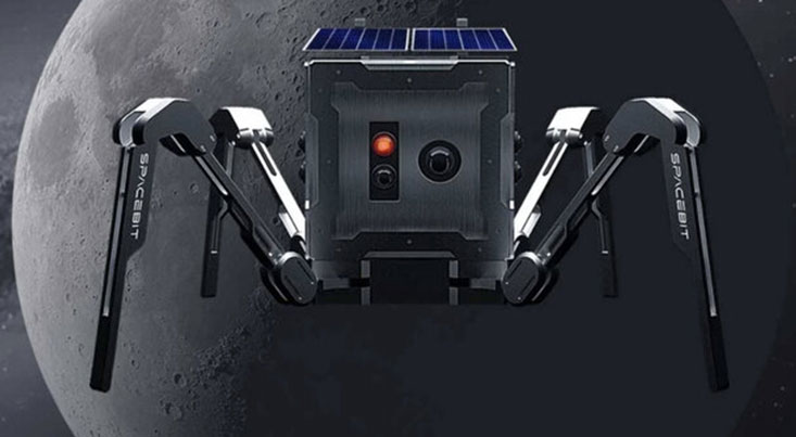انگلیس عنکبوت رباتیک به ماه می فرستد