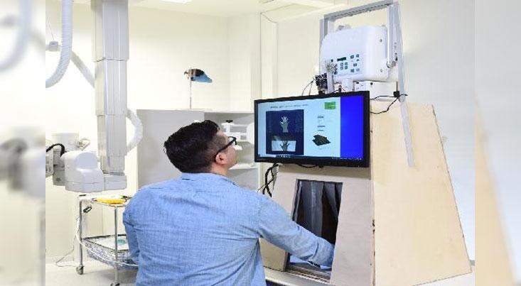 دستگاه قابل حمل اشعه ایکس برای کنترل شکستگی استخوانها