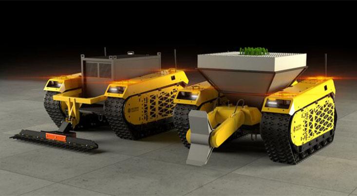 کاشت خودکار جنگل با رباتهای خودران