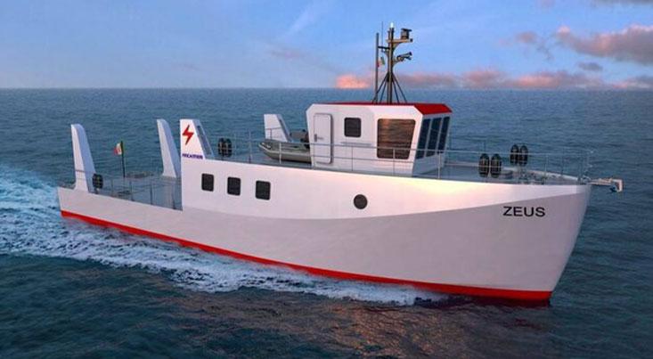 زئوس؛ اولین کشتی نیروی دریایی هیدروژنی جهان