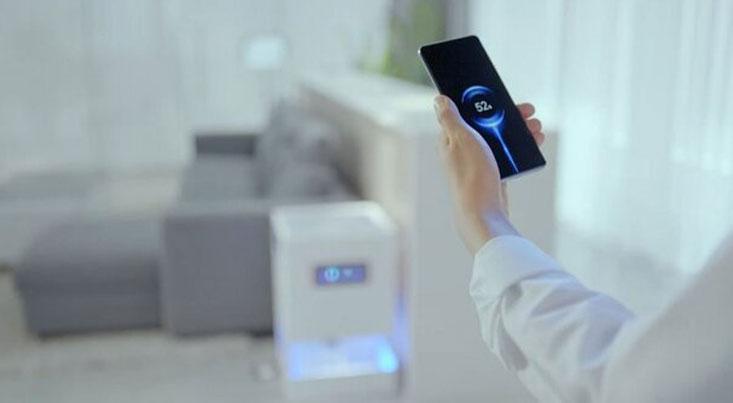شارژ موبایل از طریق هوا