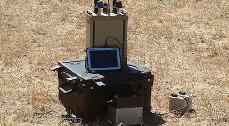 سیستم ضد پهپادی که پهپادهای مهاجم را مجبور به فرود میکند