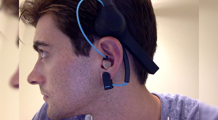 ثبت امواج مغزی با استفاده از ایمپلنت گوش