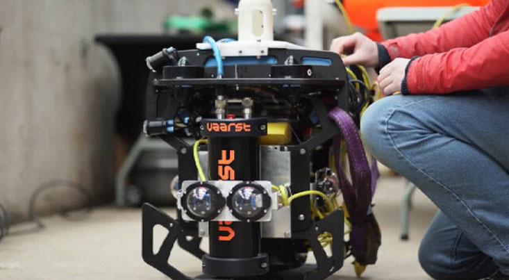 این ربات خودران زبالههای هستهای زیر آب را تمیز میکند