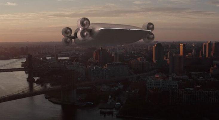 هواپیمای بدون بال با توانایی حمل ۴۰ مسافر