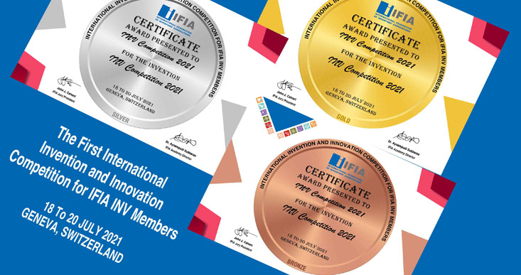 اعلام نتایج مسابقات آنلاین بین المللی اختراعات و نوآوری ها ویژه اعضای فدراسیون جهانی
