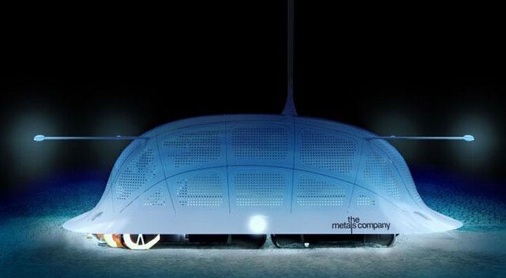 ساخت باتری خودروی برقی زیر دریا با ربات معدنچی